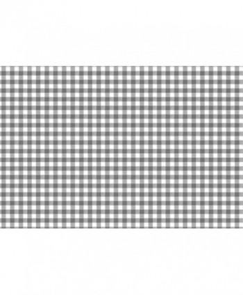 Tovaglia quadretto grigio rotolo