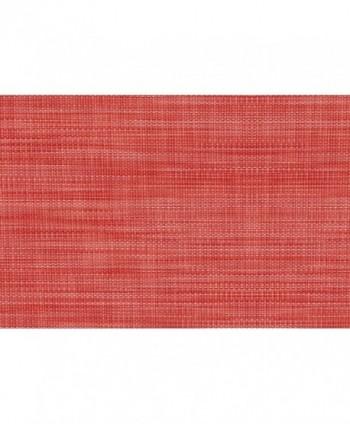 Tovaglia effetto tessile rosso rotolo