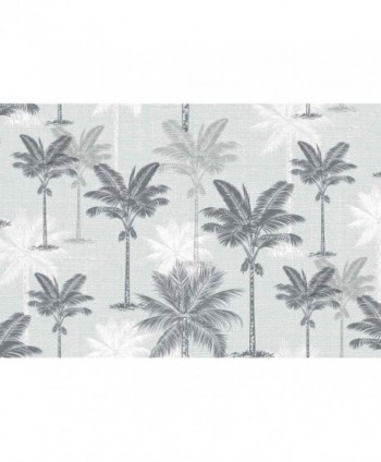 Tovaglia palme argento rotolo
