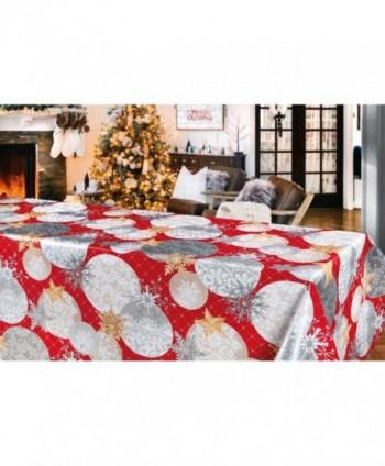 Tovaglia notte di Natale rossa rotolo