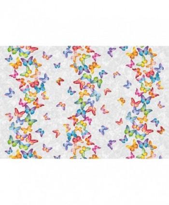 Tovaglia farfalle multicolor rotolo