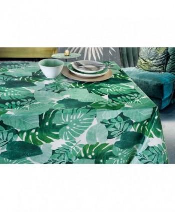 Tovaglia confezionata foglie tropicali