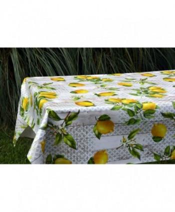 Tovaglia confezionata limoni