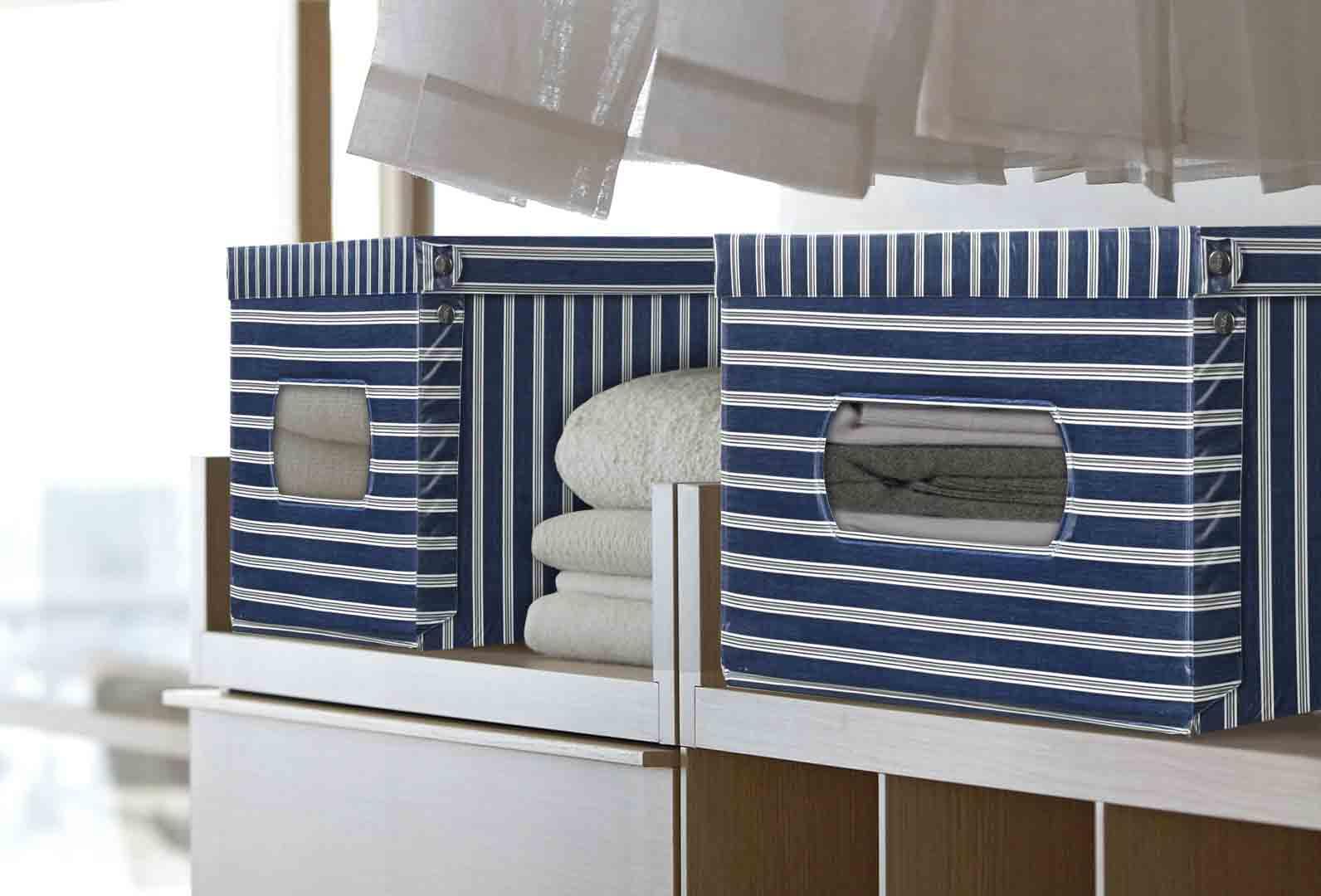 Scatole portaoggetti domopak living giovanni bottigelli spa - Scatole portaoggetti ...