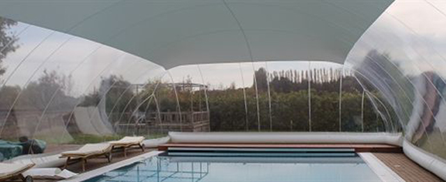 outdoor pools covering