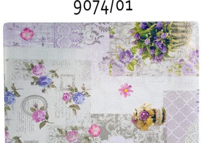 tovaglietta americana fiori