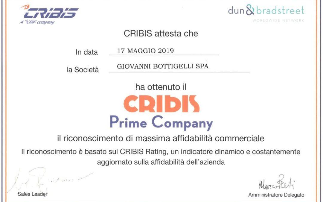 Bottigelli Prime Company 2019